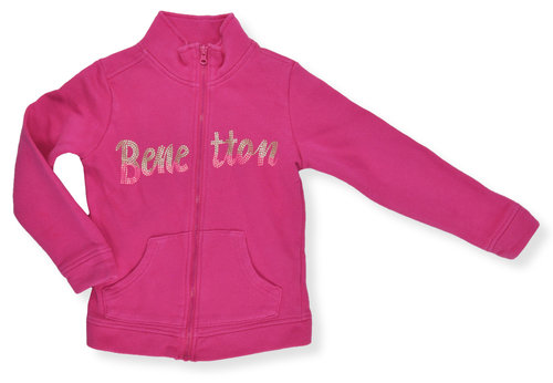 Benetton Jacke Sweat / Gr.110